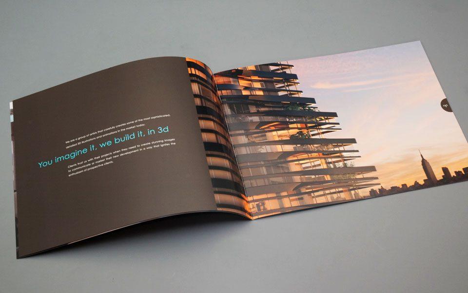 Archpartners brochure design