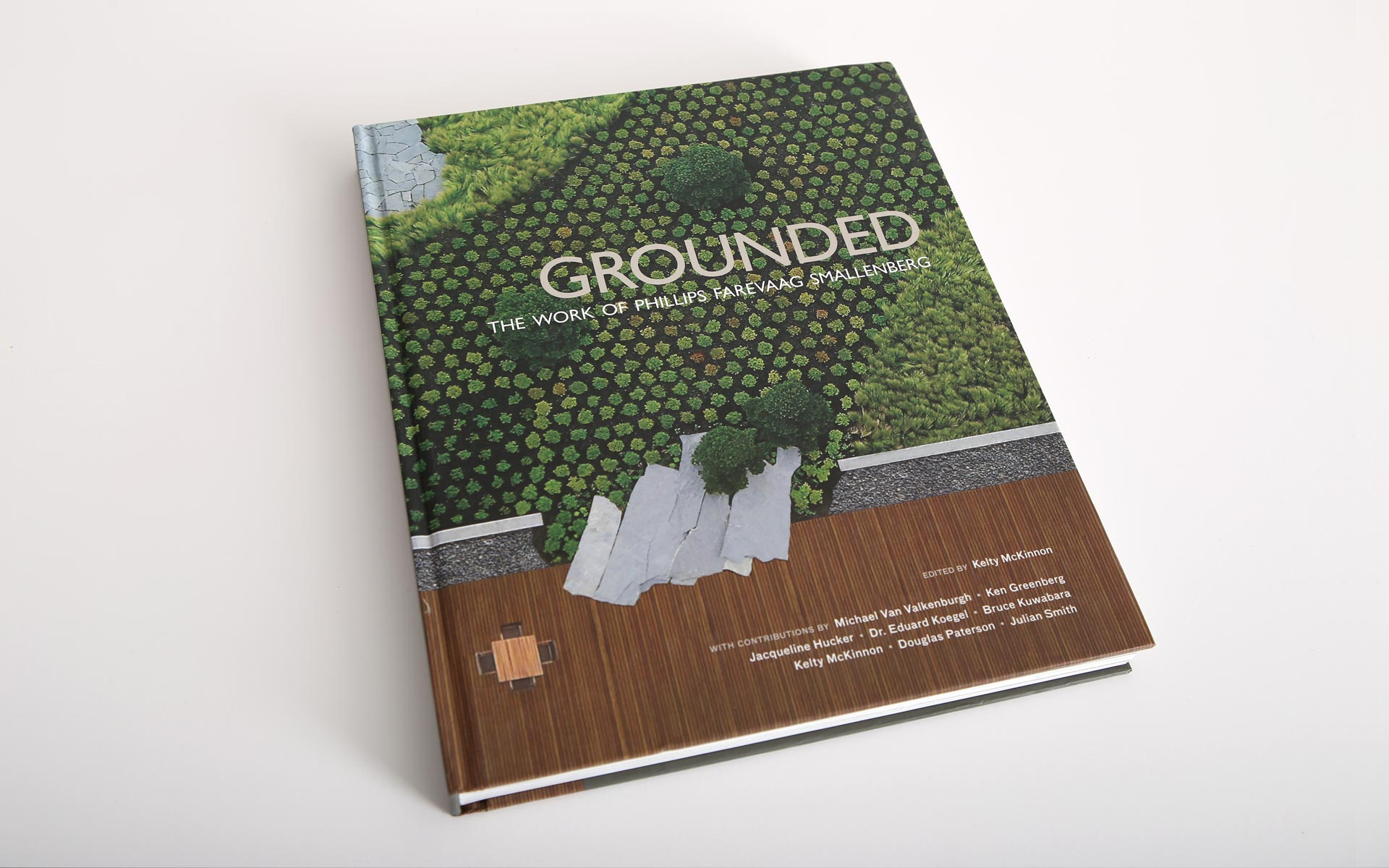 PFS Studio, Grounded, Canadian Landscape Architecture book, winner of the CSLA award