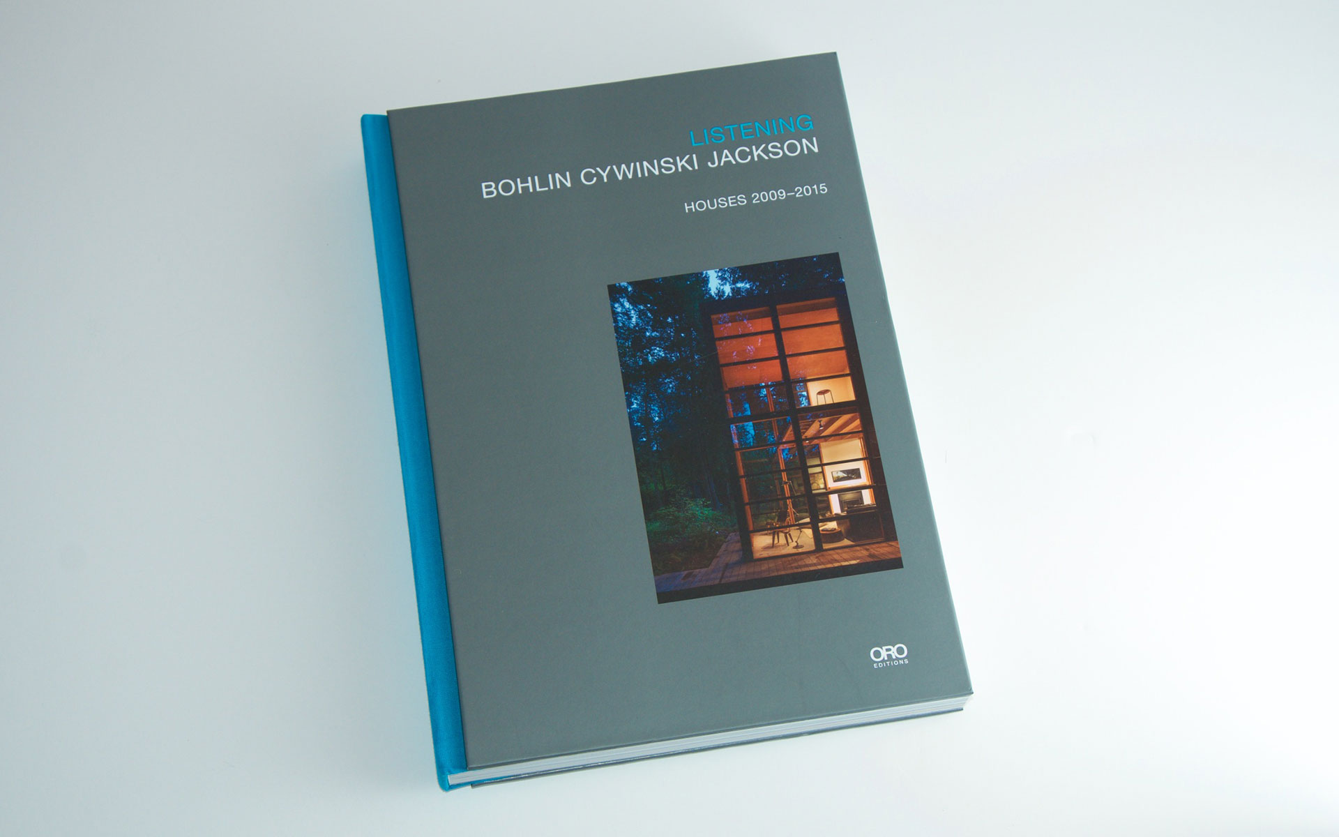 Hardcover deluxe architectural monograph book design by Pablo Mandel