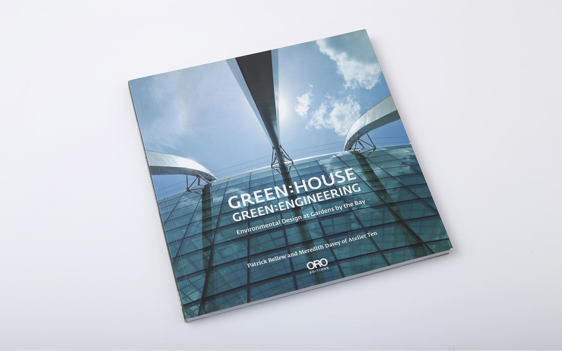 Green House: Atelier's Ten environmental planning in Singapore, book design