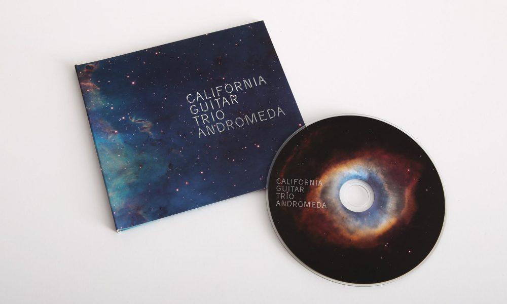 California Guitar Trio: Andromeda CD design, awarded by ESA Hubble in Popular Culture Award.