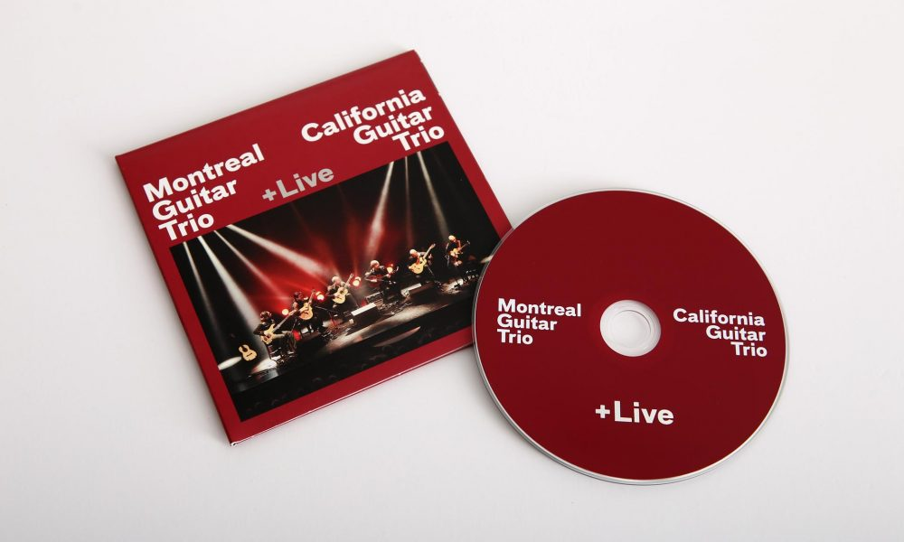 California Guitar Trio + Montreal Guitar Trio CD design