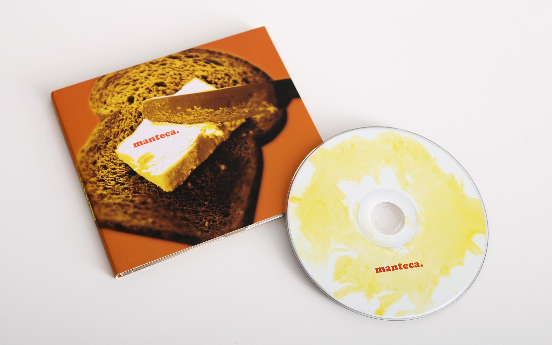 Manteca: CD cover design for Australian guitar ensemble
