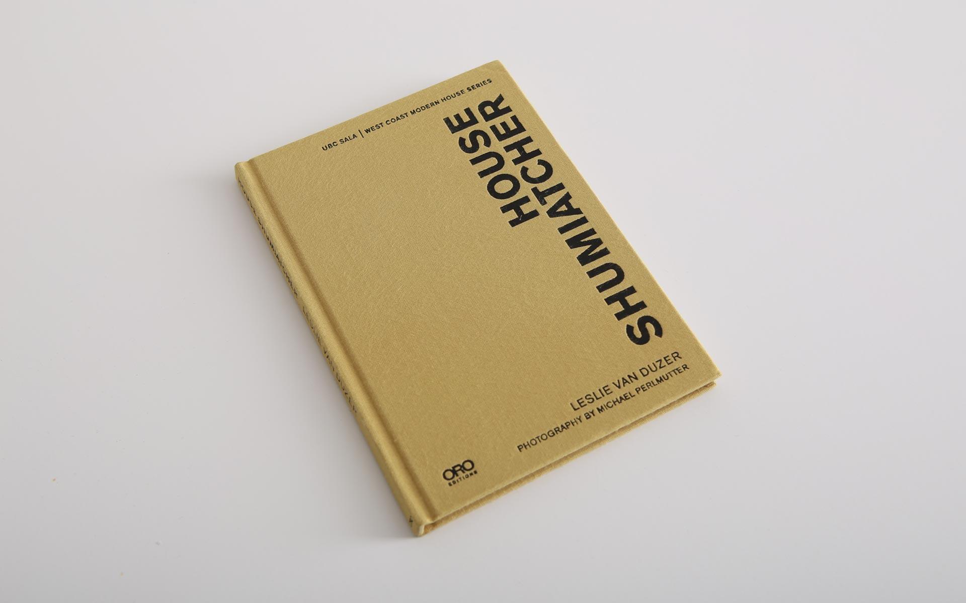 UBC Sala Modernist Houses book series design
