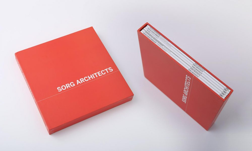 Sorg Architects: book series design with slipcase