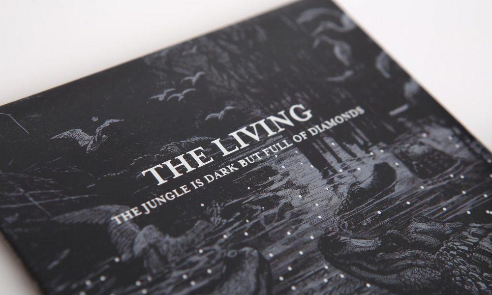 The Living: Canadian prog rock band cd design