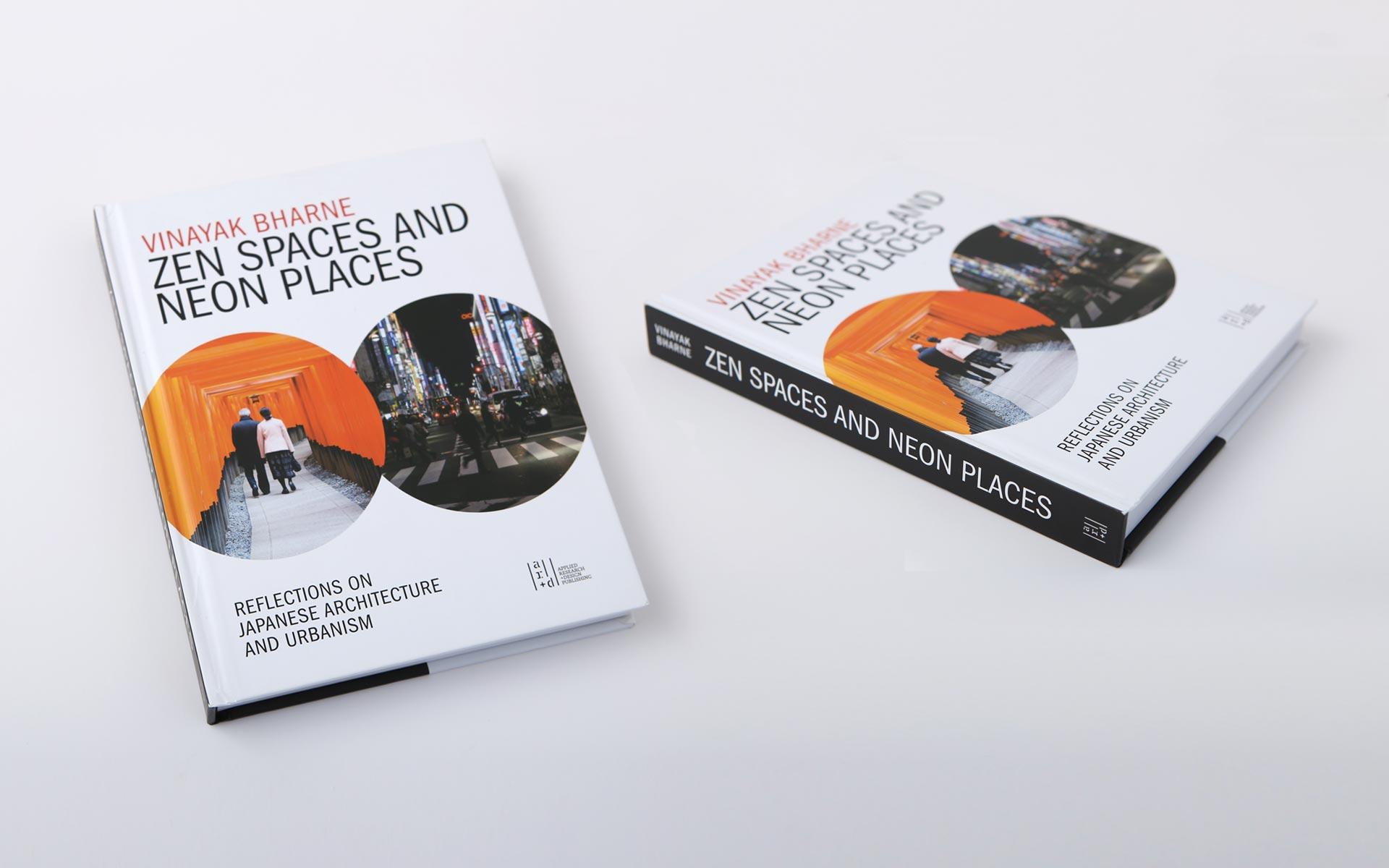 Zen Spaces and Neon Places: Japannese urbanism book design