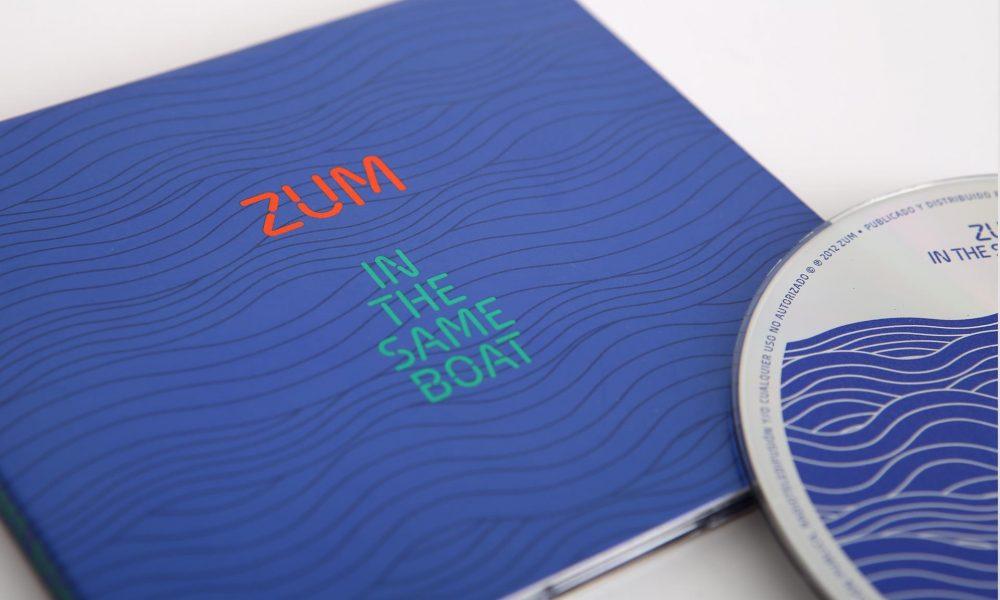 Zum guitar trio, CD cover design with special inks