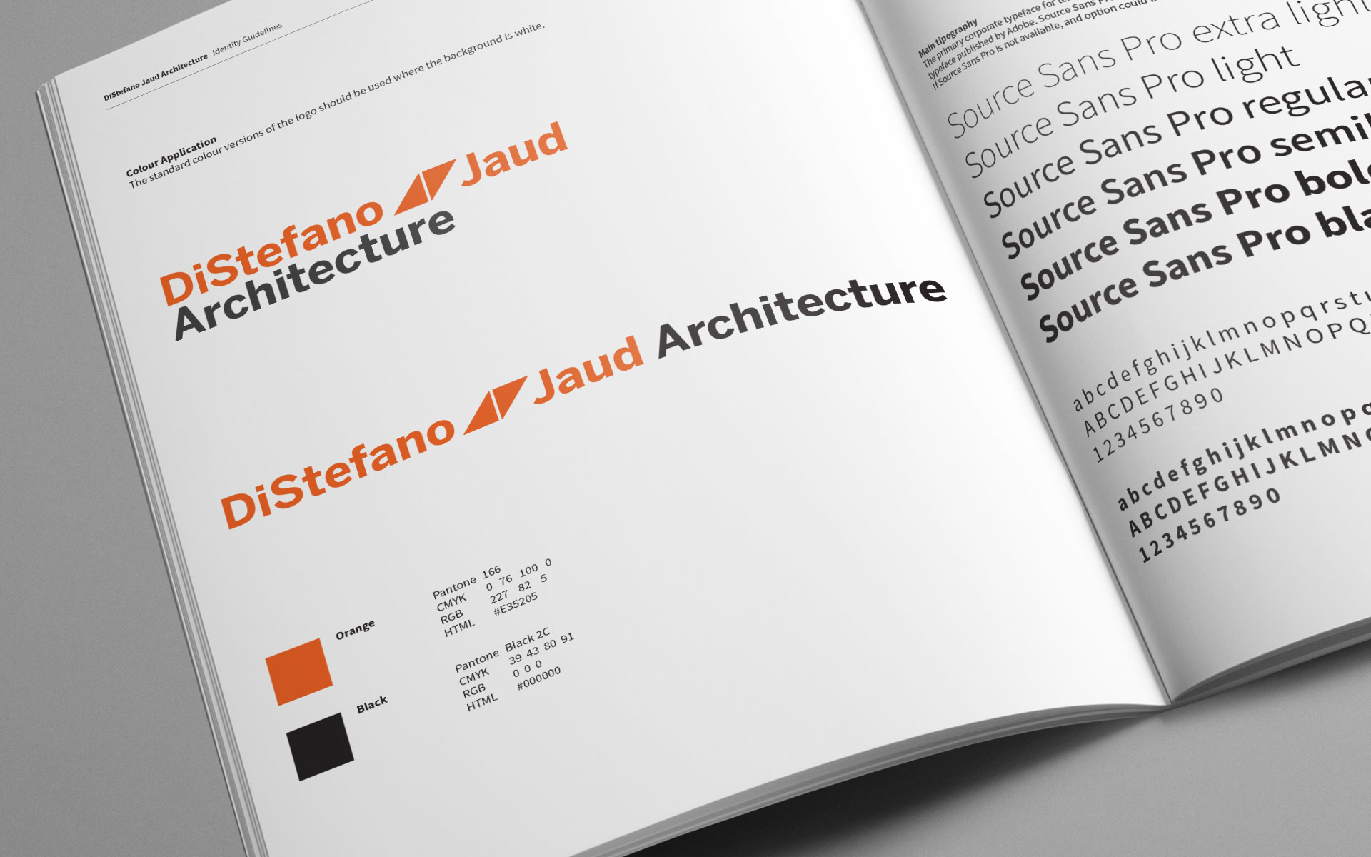 distefano-jaud-architcture-branding-manual