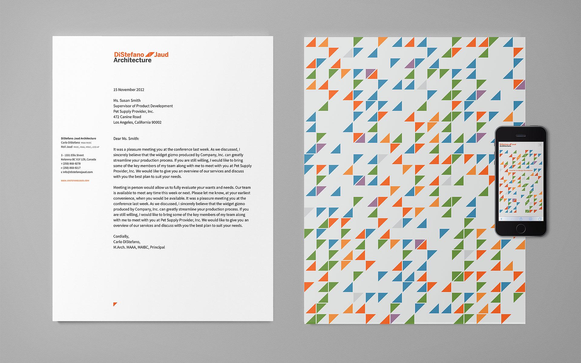 distefano-jaud-architcture-letterhead
