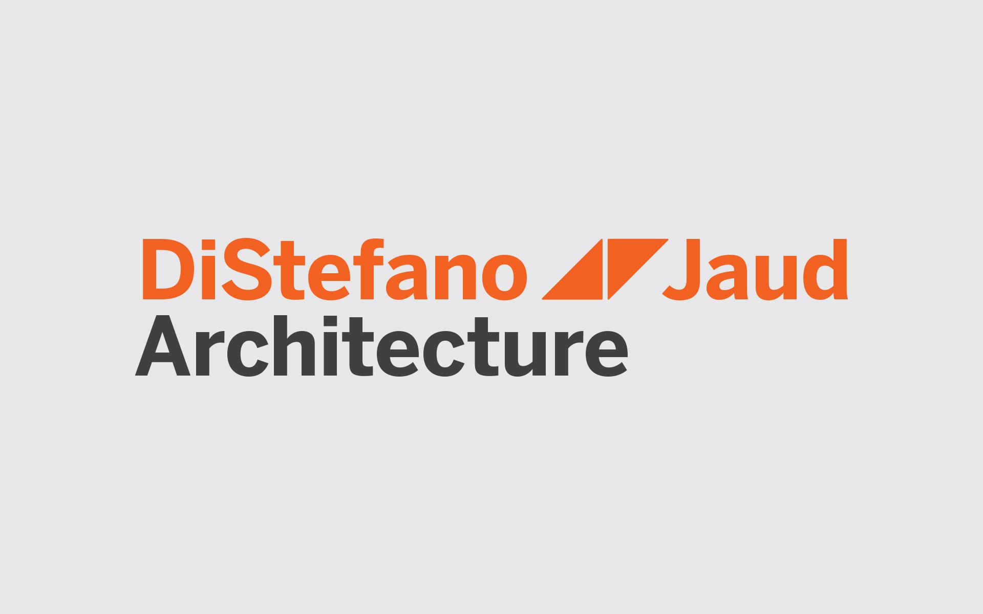 DiStefano Jaud Architecture logotype design